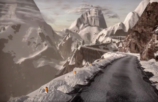 Zwift Mountain Expansion bergroute (© Zwift)