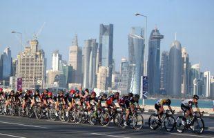 LIVE WK wielrennen Qatar 2016 (foto: dohacycling2016.com)