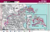 Parcours WK wielrennen Qatar 2016 wegrit vrouwen