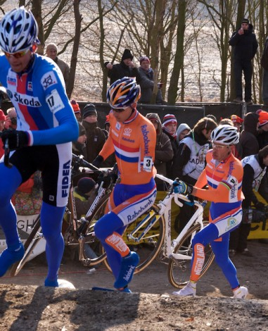 De andere Nederlanders kwamen er ook niet meer aan te pas. (Foto © Laurens Alblas)