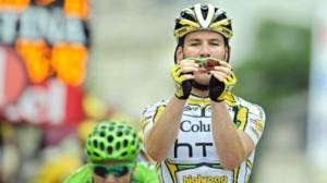De teller van Cavendish staat sinds vandaag op 3 (foto: © Belga)