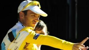Nocentini nog steeds in het geel (foto: © Belga)
