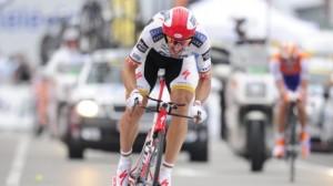 Cancellara geeft rest klop (foto: © Belga)