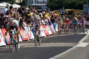 Roche klopt Roulston om de tweede plaats (foto: © Laurens Alblas)