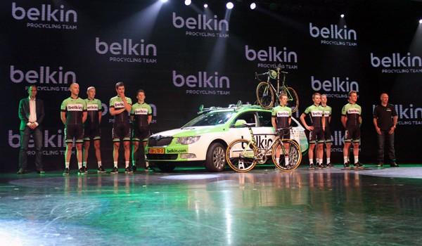Team Belkin op zoek naar nieuwe hoofdsponsor