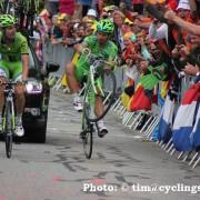 Tour de France 2013 – Video wheelie Peter Sagan Alpe d'Huez