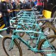 De fietsen van LottoNL-Jumbo in Omloop Het Nieuwsblad 2015 (© Jean Savelberg / cyclingstory.nl)