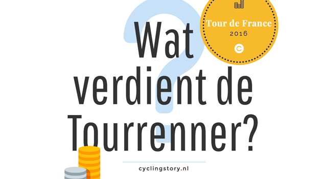 Tour de France 2016 – Het prijzengeld: Wat verdienen wielrenners?