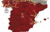 Route Vuelta a España 2016
