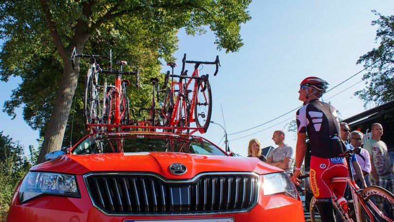 Niet alleen de renners, maar ook hun peperdure  fietsen kunnen op veel aandacht rekenen © Vincent Kwanten