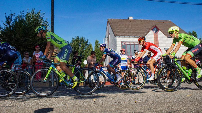 Sebastian Langeveld kiest het spoor van Erik Baska bij de start © Vincent Kwanten