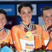 WK wielrennen Qatar 2016 – Uitslag ploegentijdrit vrouwen