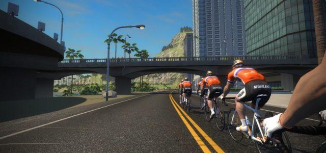 Nederlandse olympisch wielertalenten gaan op Zwift trainen