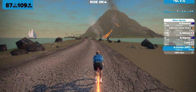 Zwift Volcano Expansion – De vulkaan staat op springen!