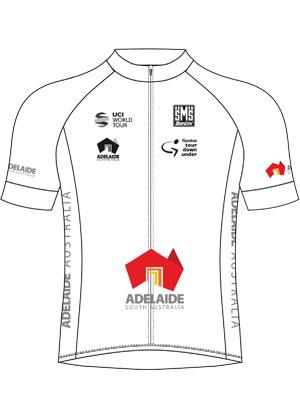 Truien Tour Down Under: witte jongerentrui