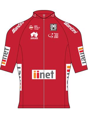Truien Tour Down Under: rode sprinttrui