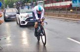 Geraint Thomas tijdens de eerste etappe van de Tour de France 2017. © Tim van Hengel/Cycling Story