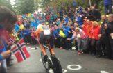 Tom Dumoulin tijdens het WK-tijdrijden 2017. © Cycling Story