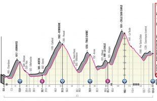 Giro 2019 - Profiel tappe 14