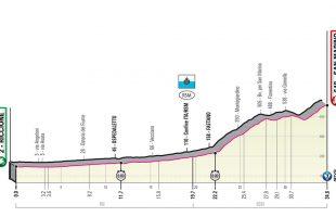 Giro 2019 - Profiel etappe 9