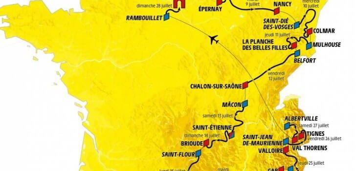 Voorbeschouwing Tour de France 2019 – Etappes